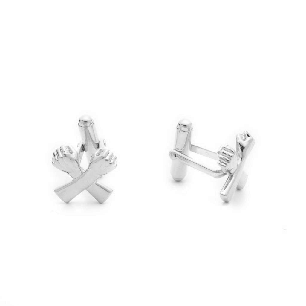 Dalasini Wakanda Sterling Silver Cuff Links