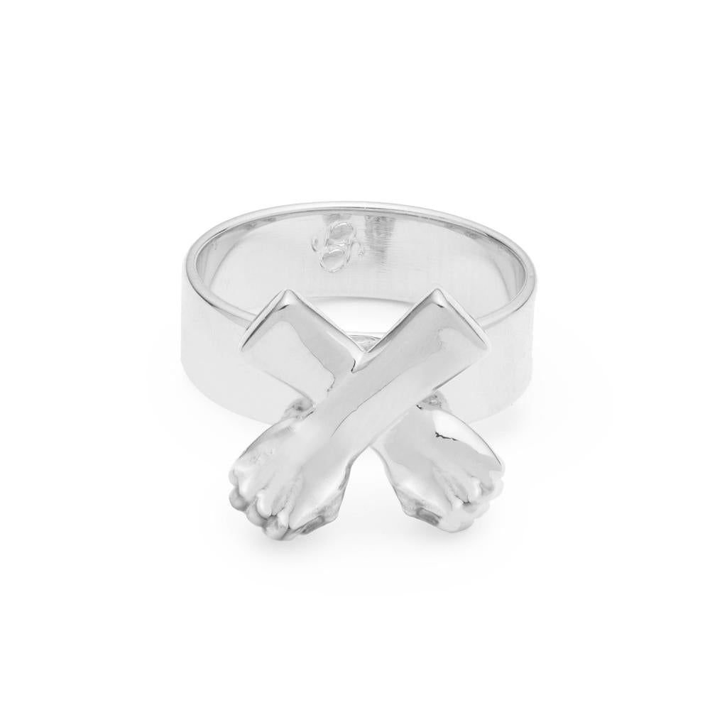 Dalasini Wakanda Sterling Silver Ring Side