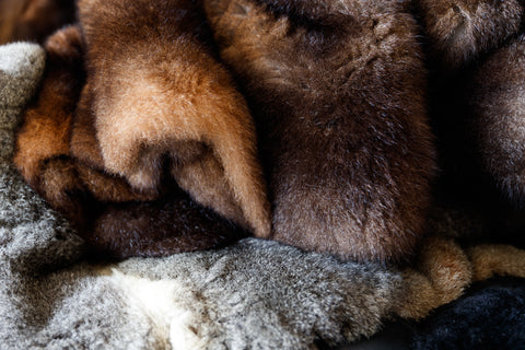 possum fur throws