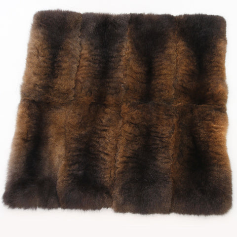 Possum Fur Throw Custom Made