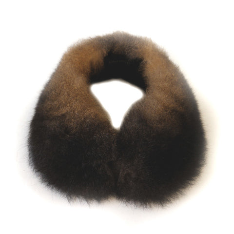 Fur Scarf - Peter Pan Collar
