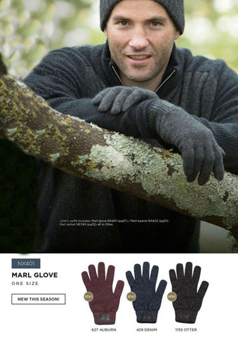 Fingerless Gloves - Marl Glove
