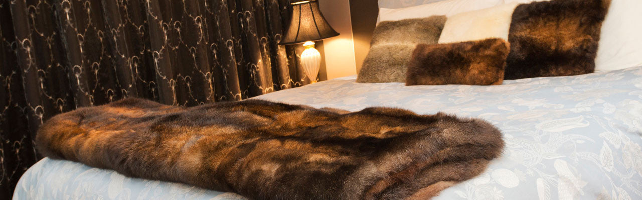 Luxury Fur Throw