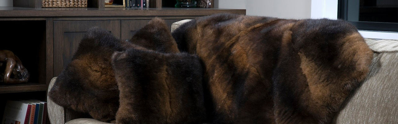 Genuine Fur Interior Decor and Accessories