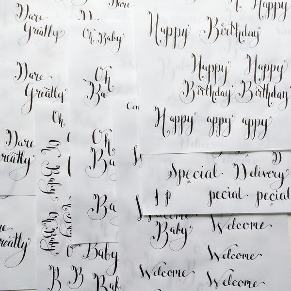 Why and How I'm learning Calligraphy