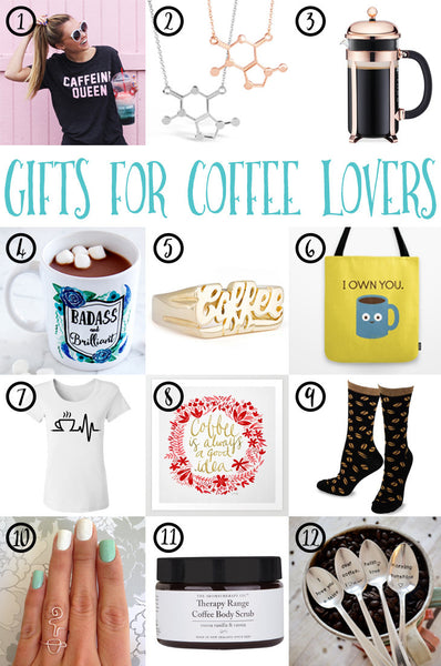 12 Gift Ideas For Coffee Lovers