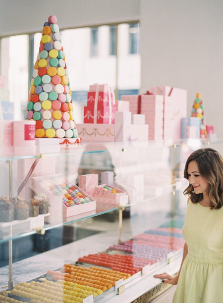 Behind the Scenes at Bottega Louie with Style Me Pretty