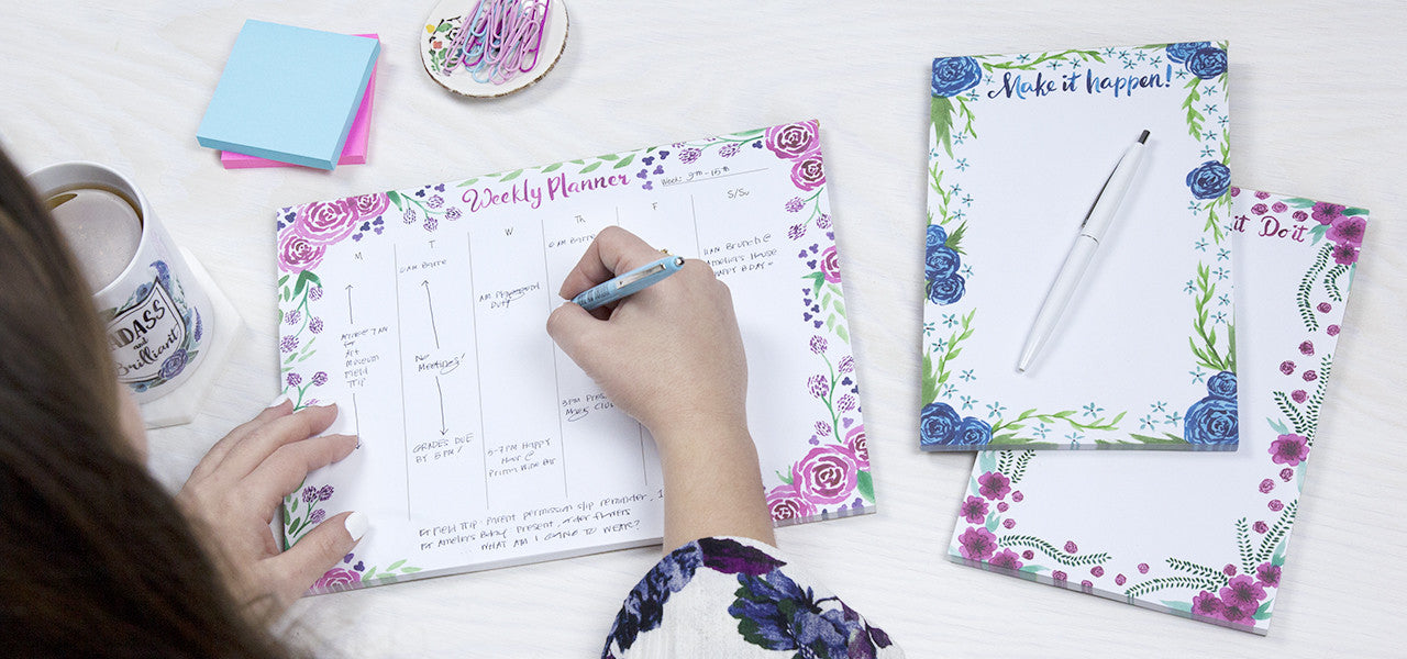 Goodey Studio Floral Notepads