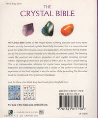HALL, JUDY. Crystal Bible (The) : A definitive guide to crystals