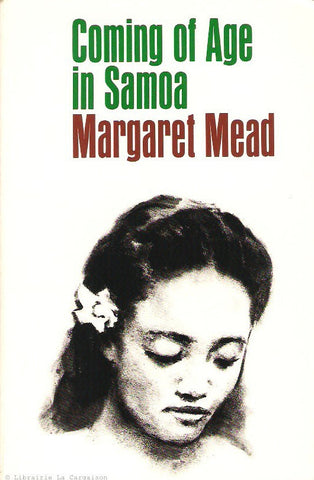 MEAD, MARGARET. Coming of Age In Samoa. A Psychological study of Primitive Youth for Western Civilisation.