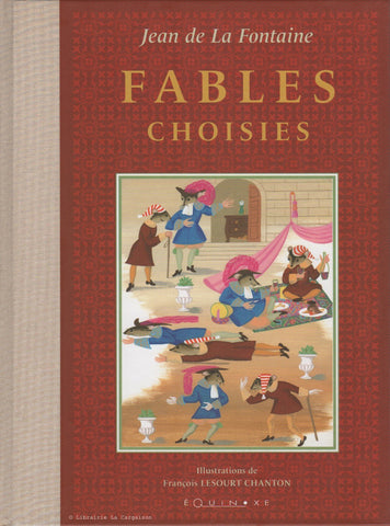 LA FONTAINE, JEAN DE. Fables choisies