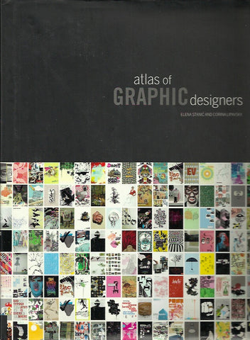STANIC, ELENA. Atlas of graphic designers