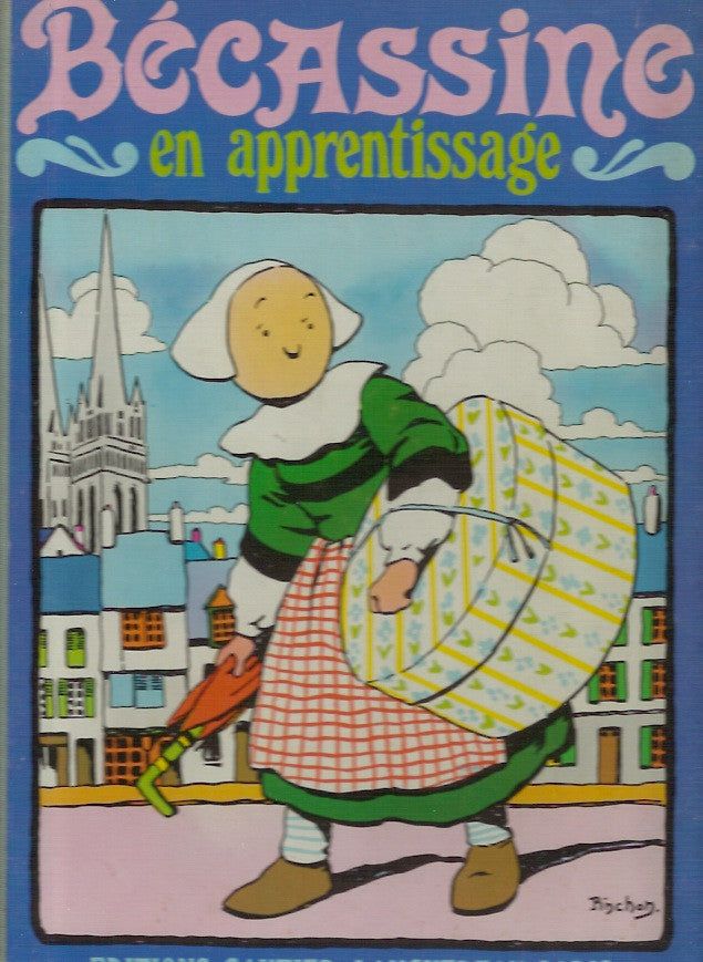 BECASSINE. Bécassine en apprentissage