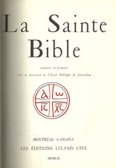 COLLECTIF. La Sainte Bible