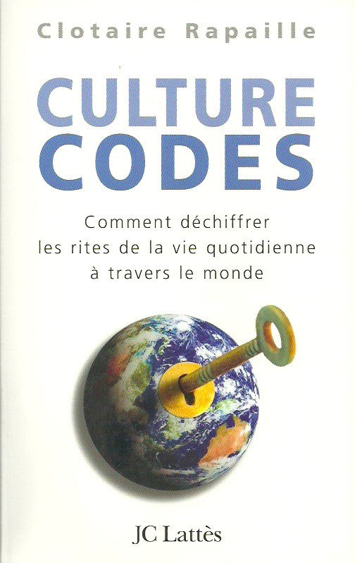 RAPAILLE, CLOTAIRE. Culture codes