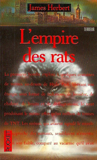 HERBERT, JAMES. L'empire des rats