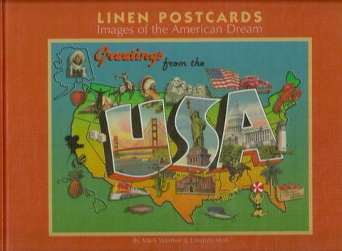 WERTHER, MARK. Linen Postcards. Images of the American Dream.