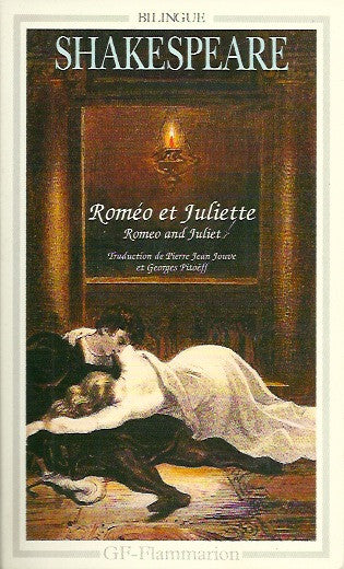 SHAKESPEARE, WILLIAM. Roméo et Juliette. Romeo and Juliet.