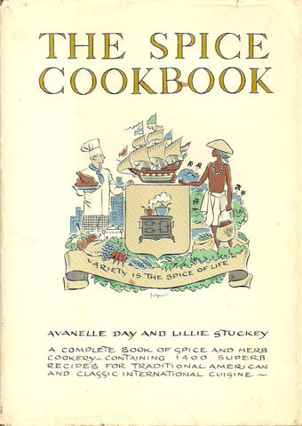 DAY-STUCKEY. The Spice Cookbook