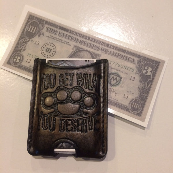 Knucks Clip Wallet