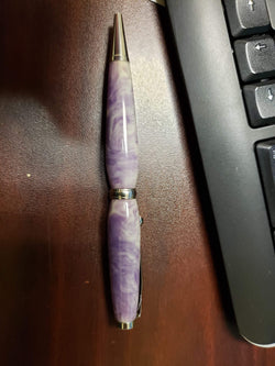 Avocado Purple Ballpoint