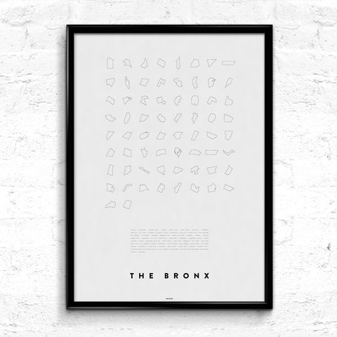 'The Bronx Line Up' Print