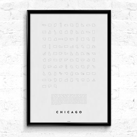 'Chicago Line Up' Print