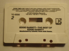 Eddie Rabbitt : The Best Of Eddie Rabbitt (Cass, Comp, Club)