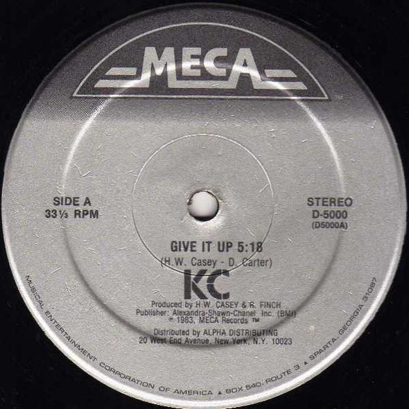 "KC (4) : Give It Up (12"")"
