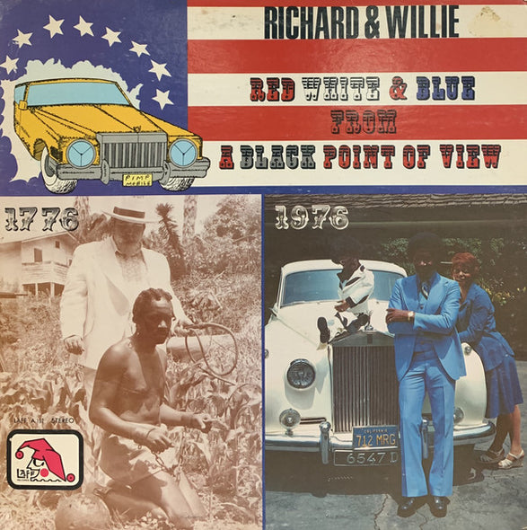 Richard & Willie : Red White And Blue From A Black Point Of View (LP)