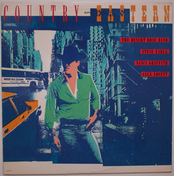 Various : Country & Eastern (LP, Comp)