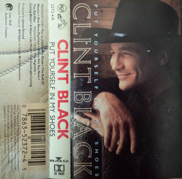 Clint Black : Put Yourself In My Shoes (Cass, Album)