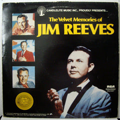 Jim Reeves : The Velvet Memories Of Jim Reeves  (2xLP, Comp)
