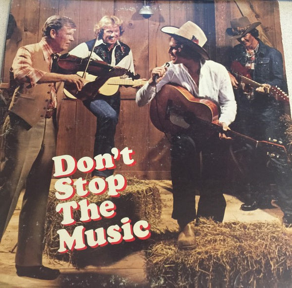 Various : Don't Stop The Music (LP, Comp, Club)