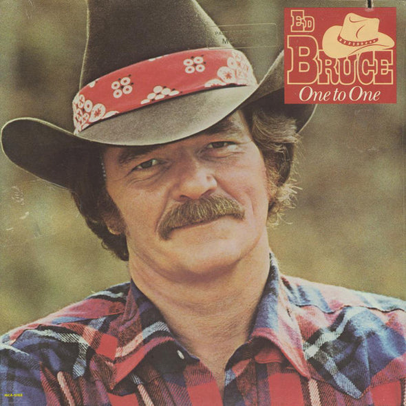 Ed Bruce : One To One (LP, Album, RE, Pin)