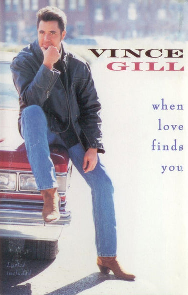 Vince Gill : When Love Finds You (Cass, Album, Dol)