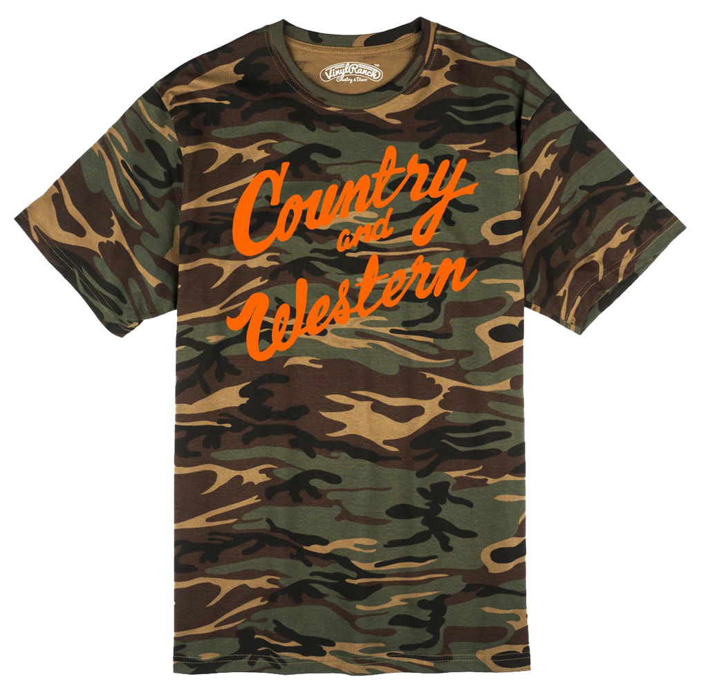 Country & Western Camo Unisex Tee