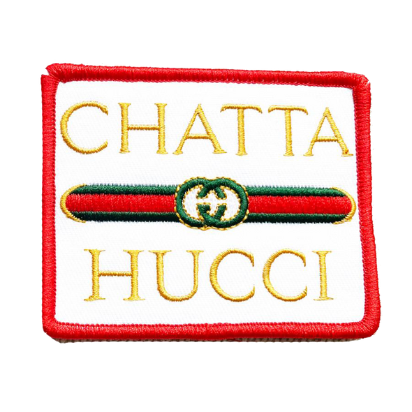 CHATTAHUCCI Iron-on Patch