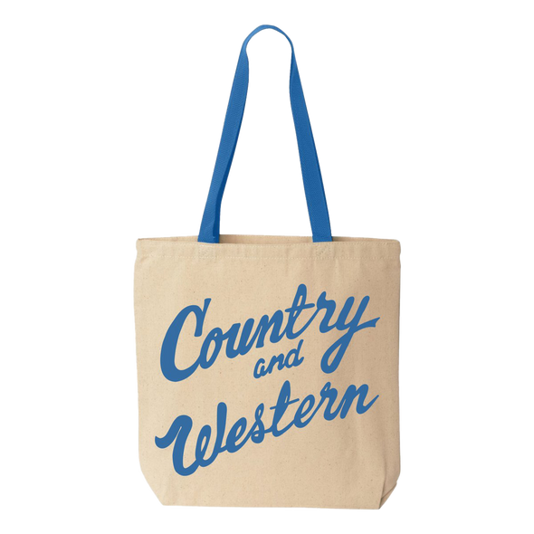 Country & Western Tote Bag