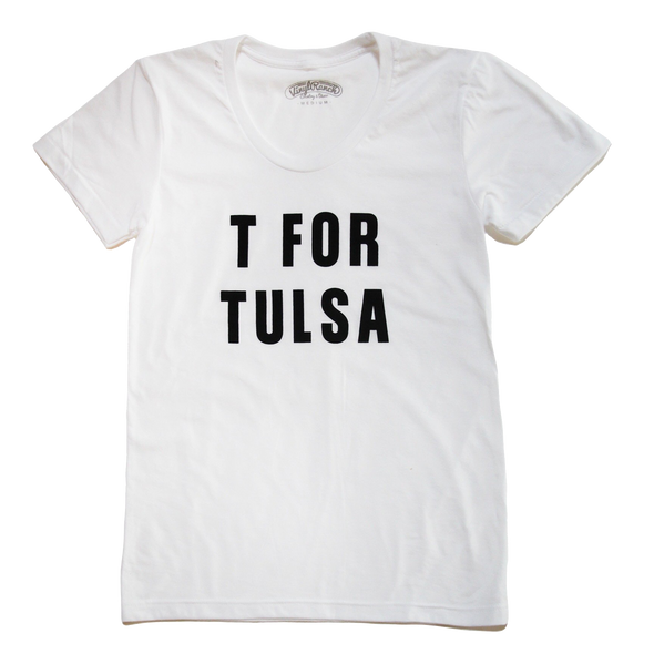 T FOR TULSA Women's Scoop Tee