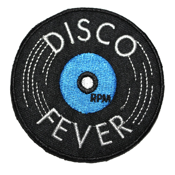 Disco Fever Iron-on Patch