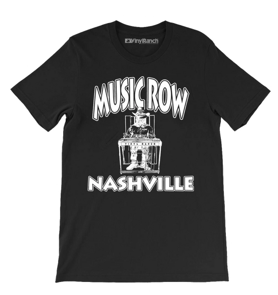 Music Row Black Unisex Tee