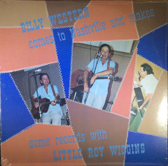Billy Western With Little Roy Wiggins : Comes To Nashville And Makes Some Records (LP, Album)