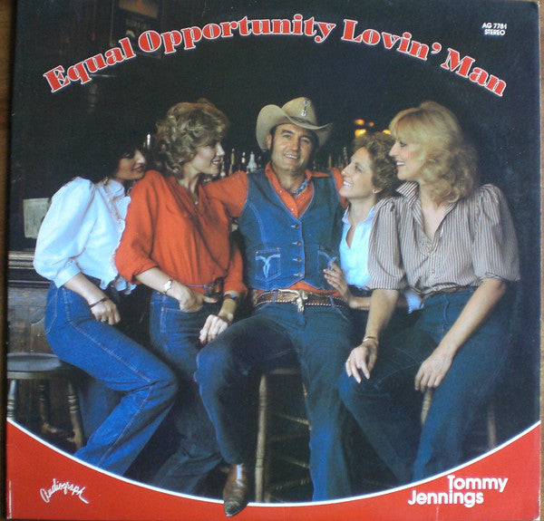 Tommy Jennings : Equal Opportunity Lovin' Man (LP)