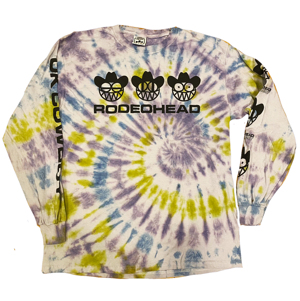 RODEOHEAD Limited Edition Tie Dye Unisex Long Sleeve