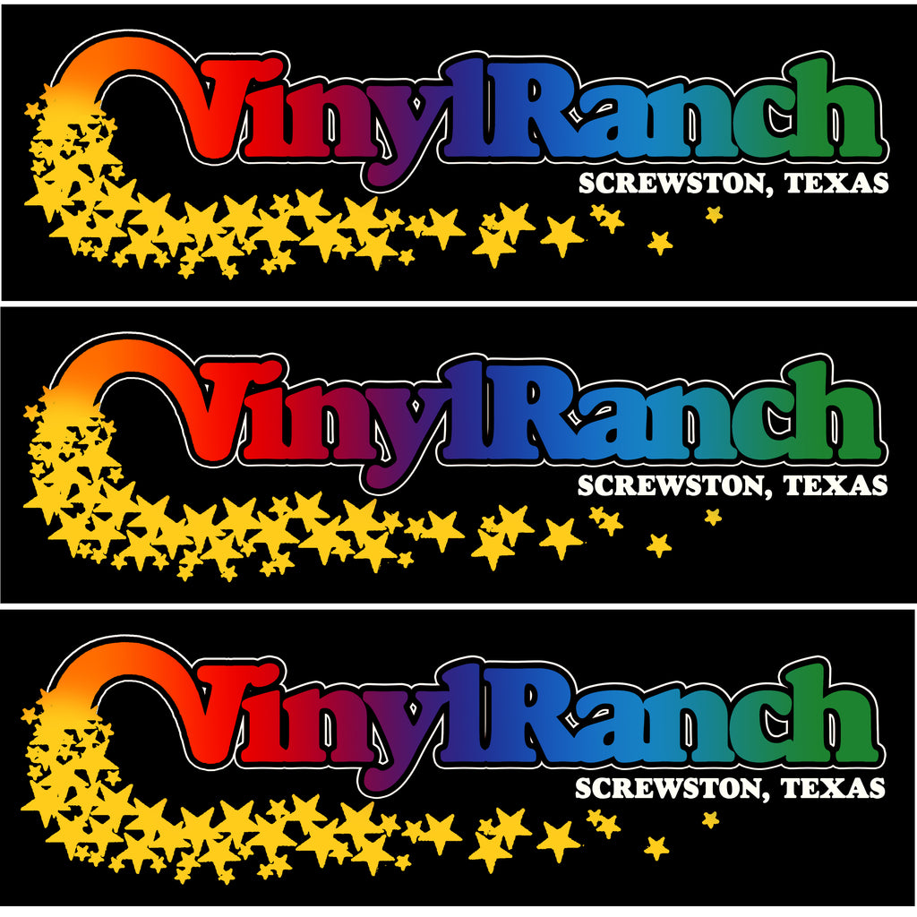 VINYL RANCH SCREWSTON Bumper Sticker