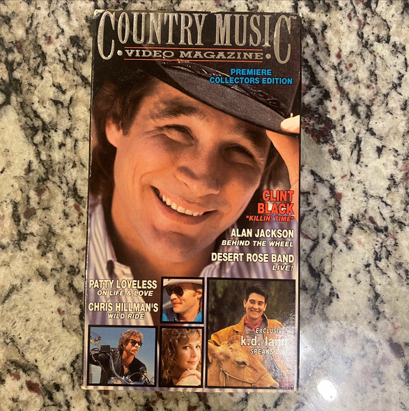 VHS Country Music Video Magazine