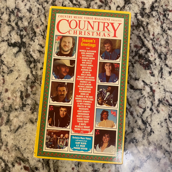 VHS Country Christmas