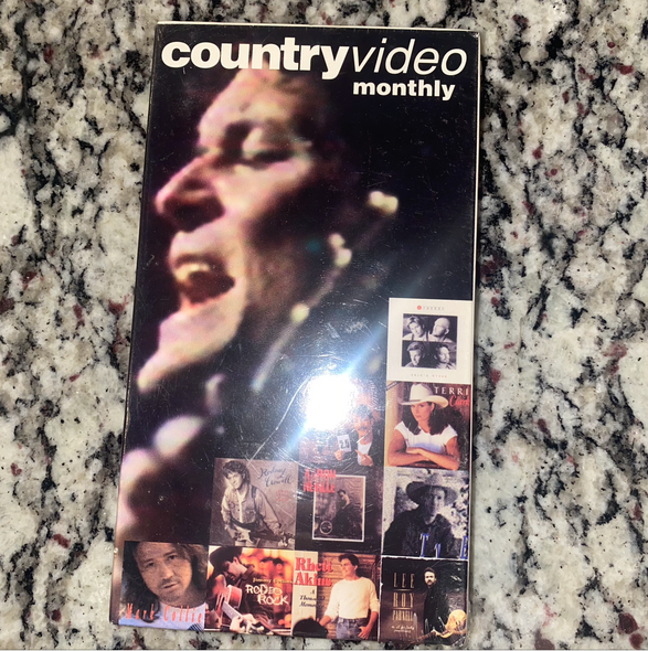 VHS Country Video Monthly