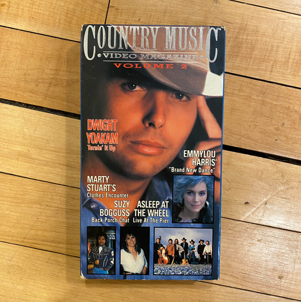 VHS Country Music Video Magazine Vol 2